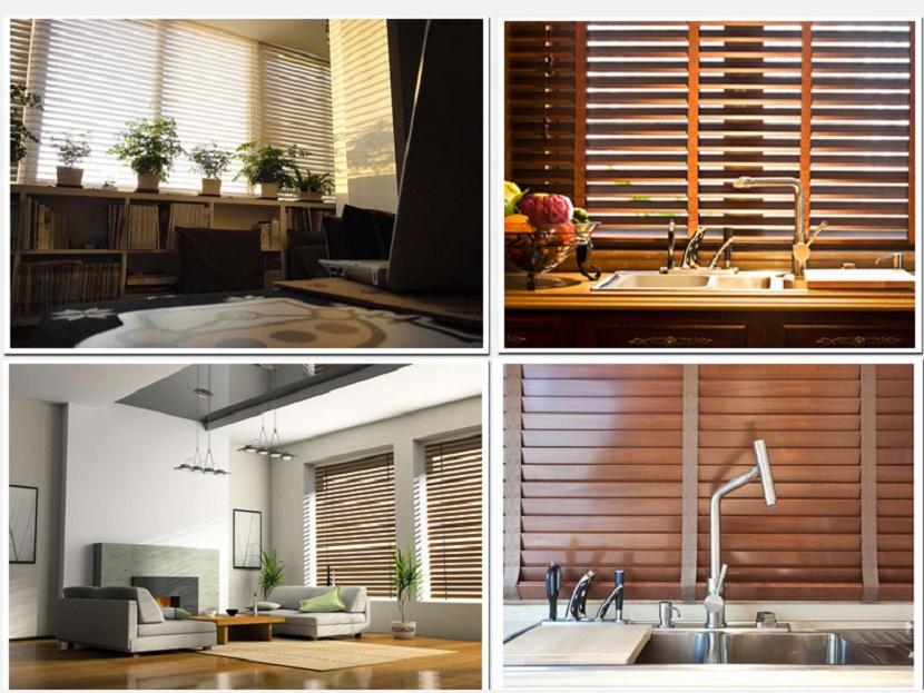 Rèm gỗ thích hợp với nhiều không gian
