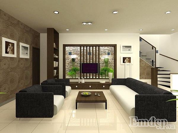 Tường nhà không bị thấm đem đến nét đẹp thẩm mỹ cho ngôi nhà.