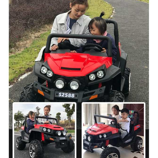 Xe ô tô điện 4 động cơ S2588 2 chỗ ngồi