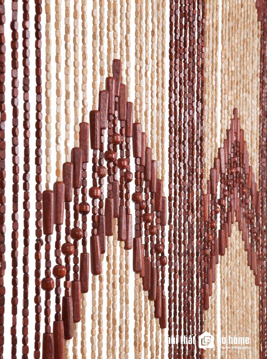 Mẫu rèm hạt gỗ đẹp 9