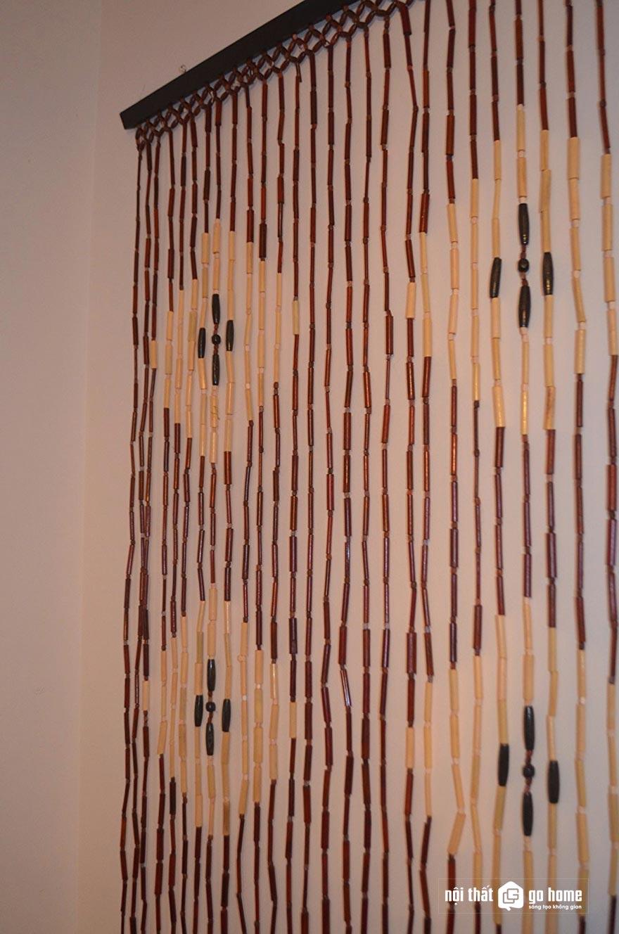 Mẫu rèm hạt gỗ đẹp 10