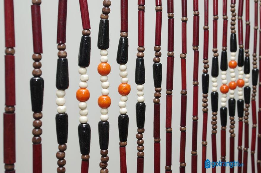 Mẫu rèm hạt gỗ đẹp 11