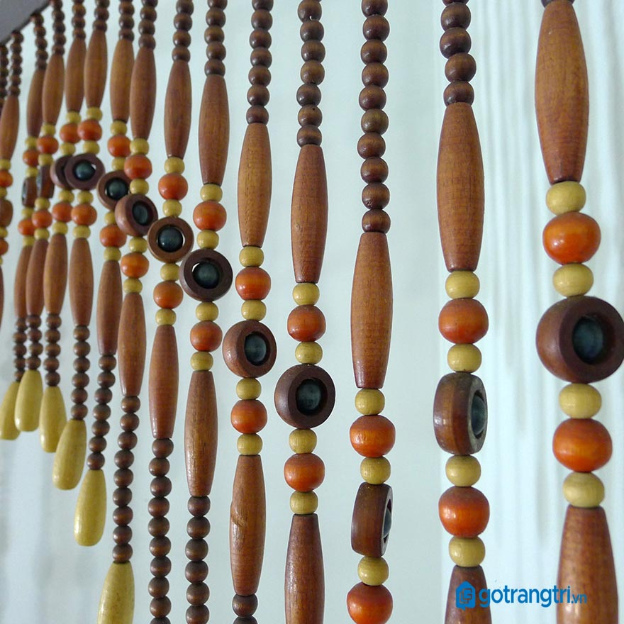 Mẫu rèm hạt gỗ đẹp 14