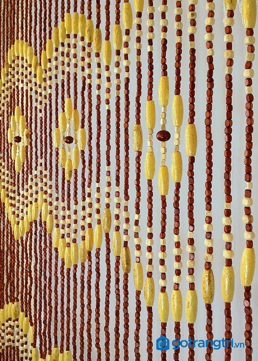 Mẫu rèm hạt gỗ đẹp 5