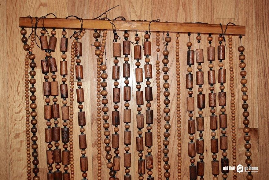 Mẫu rèm hạt gỗ đẹp 6