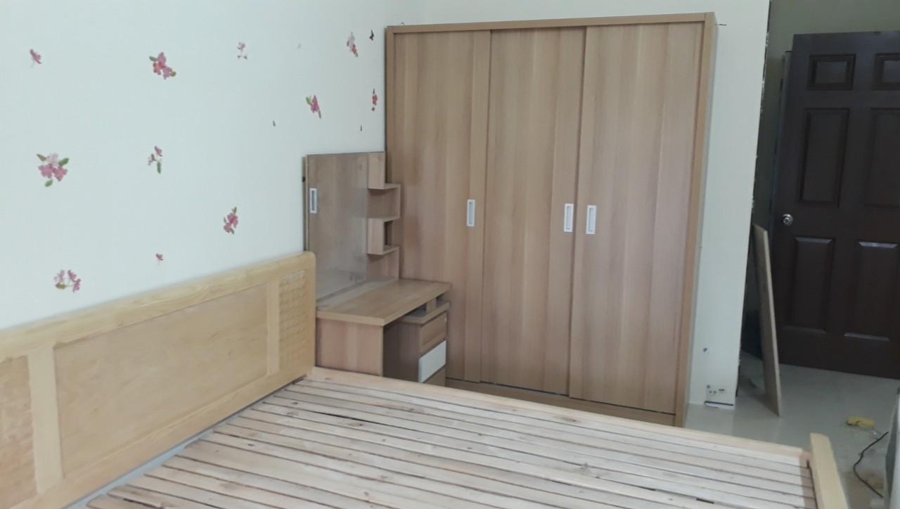 Tủ quần áo khi lắp đặt cho khách