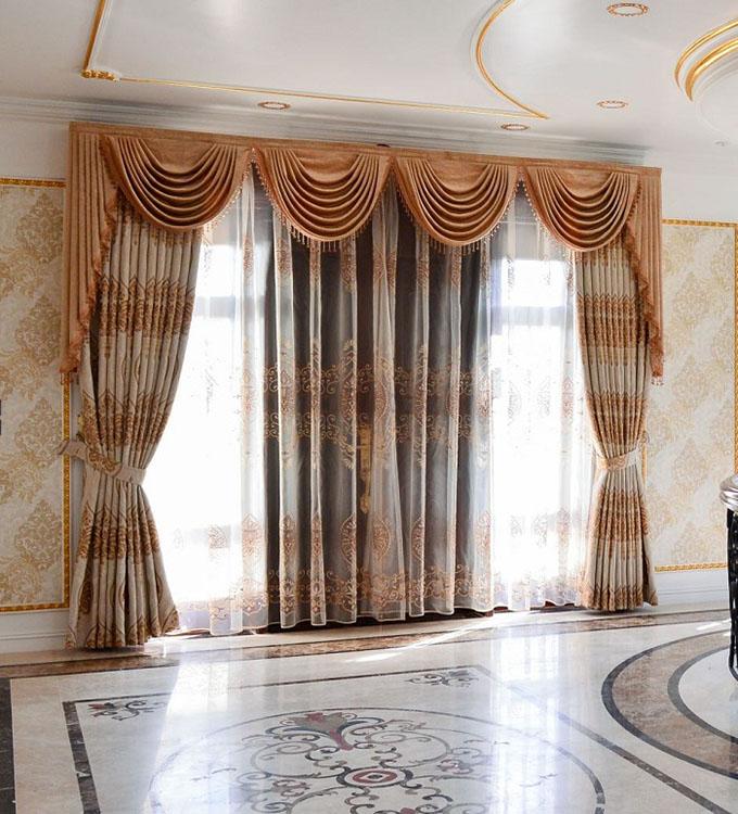 Cách chọn rèm cửa biệt thự tân cổ điển