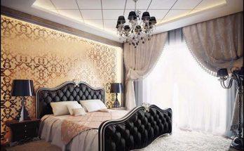 Chọn rèm cửa phòng ngủ phù hợp với phong cách biệt thự