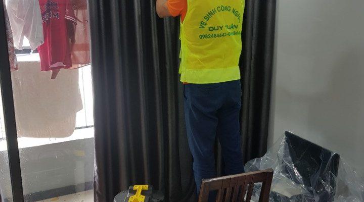 Giặt rèm cửa tại nhà Duy Tuấn