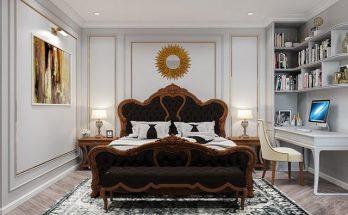 Phòng ngủ - Nội thất biệt thự cách tân 2 tầng