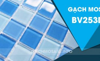 Gạch mosaic ốp lát bể bơi BV253D4