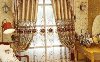 Cách chọn rèm cửa biệt thự cổ điển