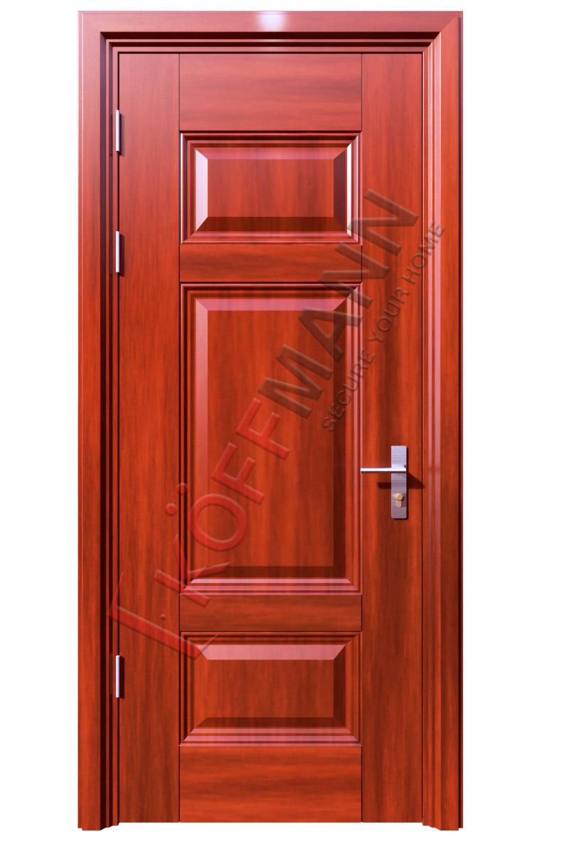 Lắp đặt cửa thép vân gỗ tại Hà Nội